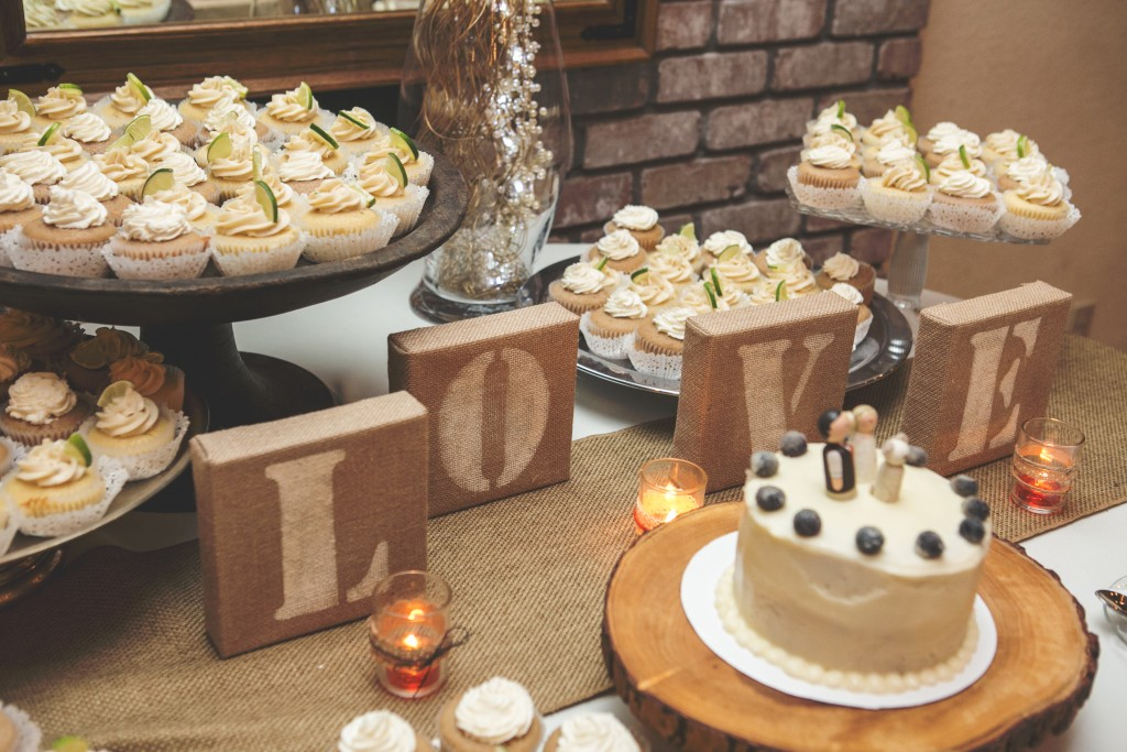 Wedding Cupcake Display